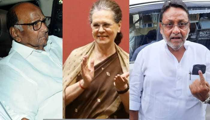 NCP-BJP spar over govt formation in Maharashtra; Pawar-Sonia to decide next course of action