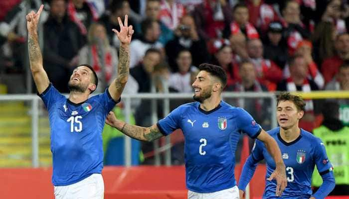 Euro 2020 qualifiers: Italy win record 10th match in a row with Bosnia rout