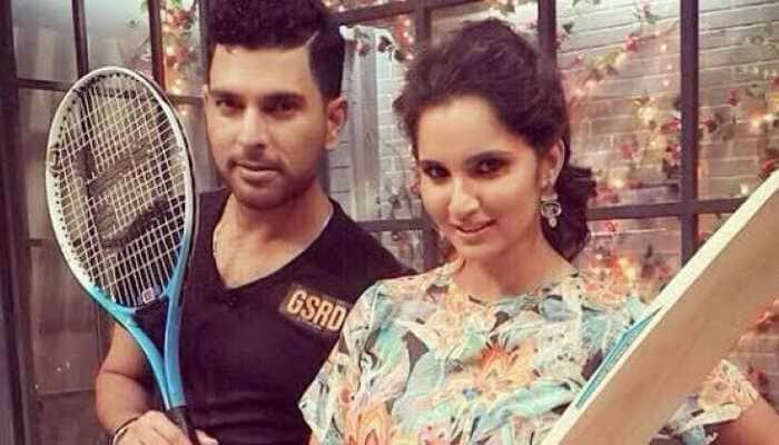 'Hai Motu': Sania Mirza gives cute reply to Yuvraj Singh's birthday wish