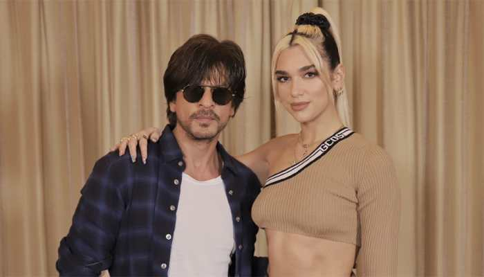 Shah Rukh Khan shares pics with pop-star Dua Lipa; wishes her luck before Mumbai concert