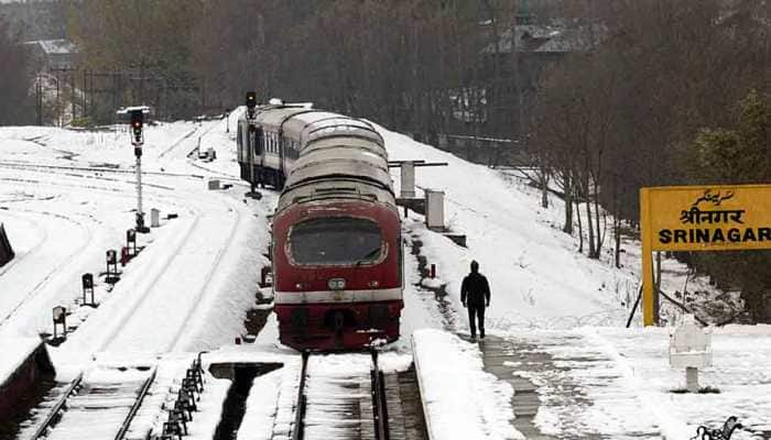 Train services to be resumed between Srinagar and Banihal from Monday after successful trail run