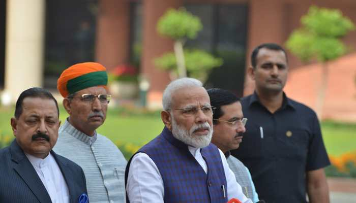 PM Narendra Modi asks MPs for quality debates and dialogues to enrich discussions in Parliament