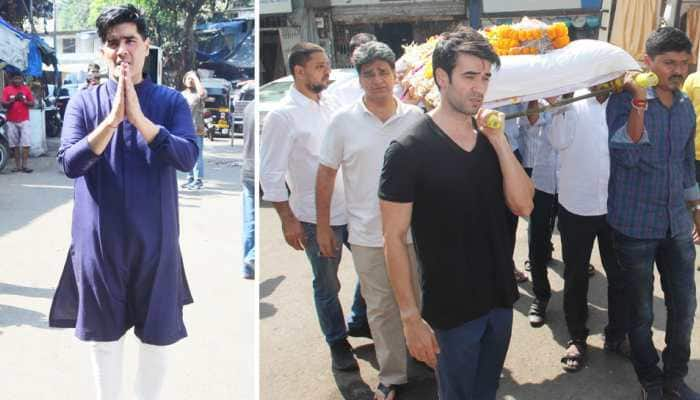 Manish Malhotra's father no more, Bollywood celebs attend last rites – In Pics