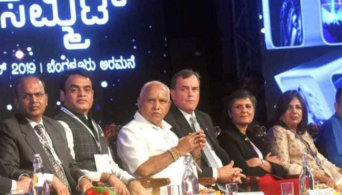 CM Yeddiyurappa inaugurates Bengaluru Tech Summit