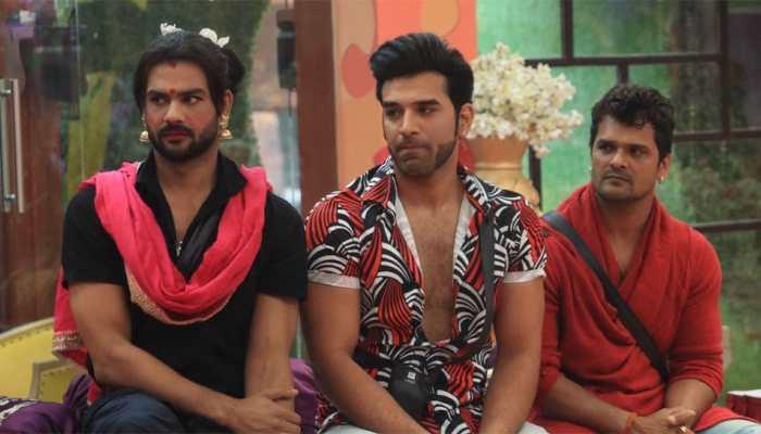 'Bigg Boss 13': Vishal cross-dresses as Paras's 'mausi'