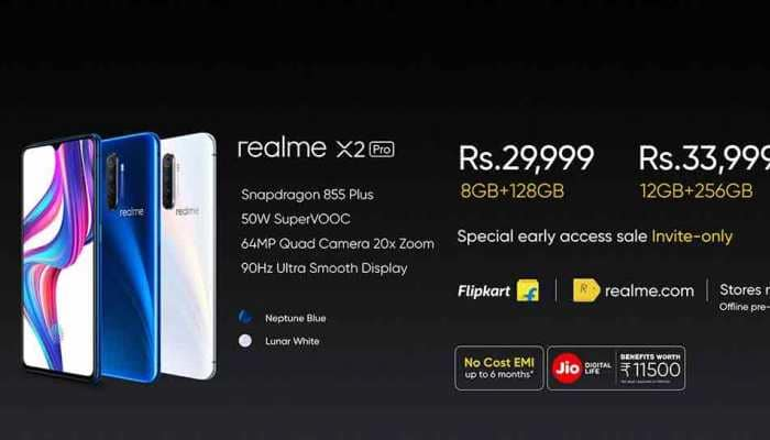 Realme X2 Pro launched in India; Check price, camera and features