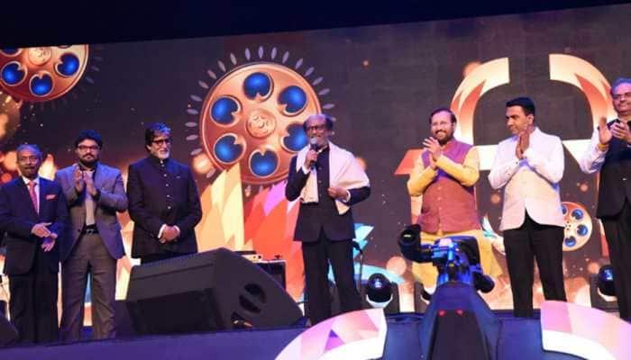 Twitter fans praise Rajinikanth, Amitabh Bachchan as 50th IFFI opens
