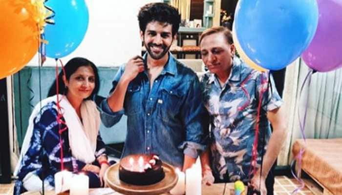 Happy Birthday Kartik Aaryan: Check out inside pics of his birthday celebrations with parents