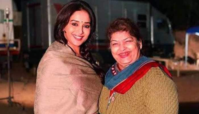 Madhuri Dixit posts an endearing note on 'guru' Saroj Khan's birthday