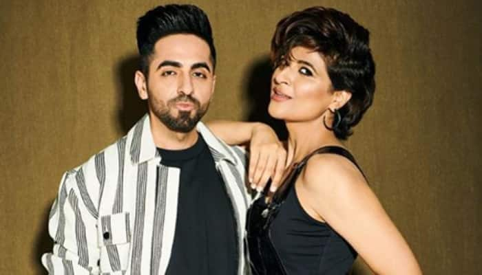 Ayushmann Khurrana posts his pictures 'with' and 'without' wife Tahira Kashyap