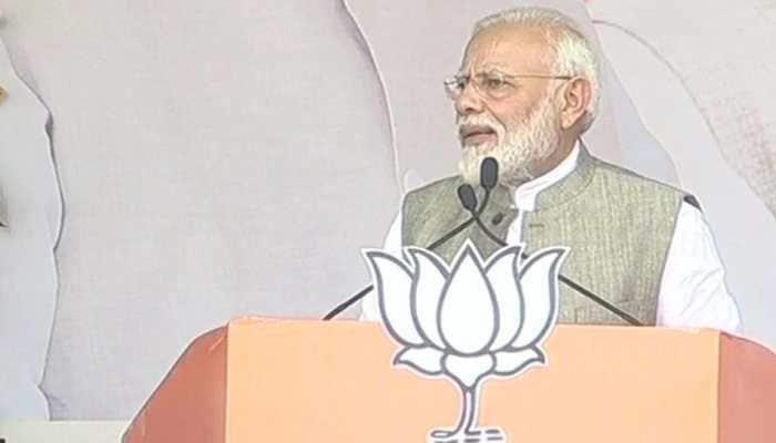 BJP made effort to free Jharkhand off naxals, create peaceful environment: PM Narendra Modi