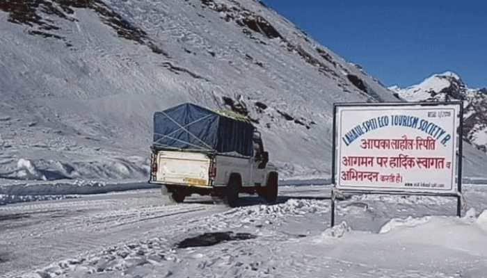 Himachal Pradesh: Rohtang Pass receives fresh snowfall