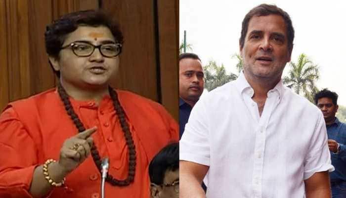 Rahul Gandhi slams BJP MP, says 'terrorist Pragya calls terrorist Godse, a patriot'
