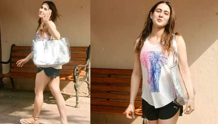 Sara Ali Khan hits the gym post New York vacay – Photos