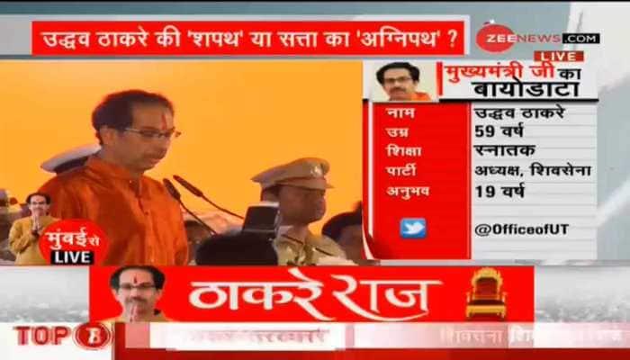 Uddhav Bal Thackeray: From photography to Maharashtra Chief Minister