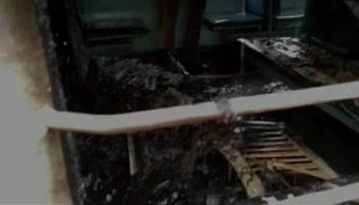 Man torches train coach in Haridwar after being denied ID card
