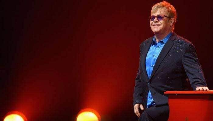 Elton John once wore a diaper for a Las Vegas gig