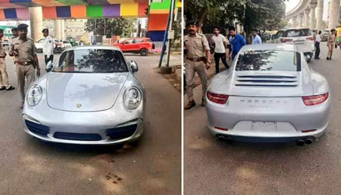 Porsche car owner fined Rs 9.8 lakh in Ahmedabad for traffic rule violation, highest so far
