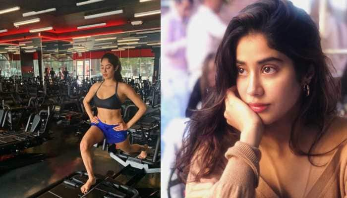 Janhvi Kapoor sweats it out at the gym, shares pic on Instagram
