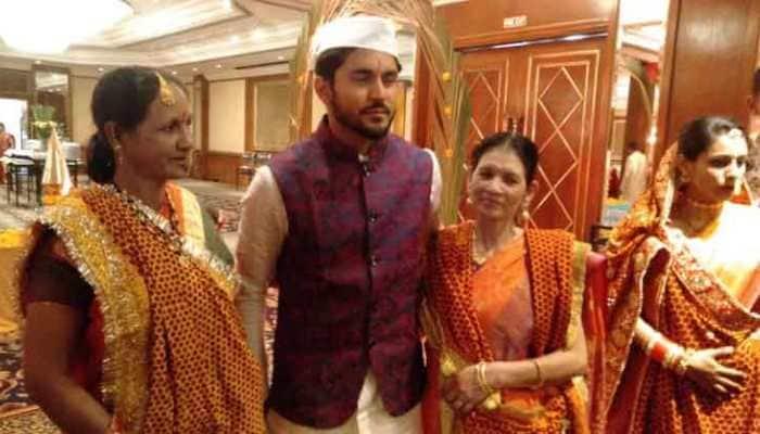 Cricketer Manish Pandey ties knot with actress Ashrita Shetty in Mumbai