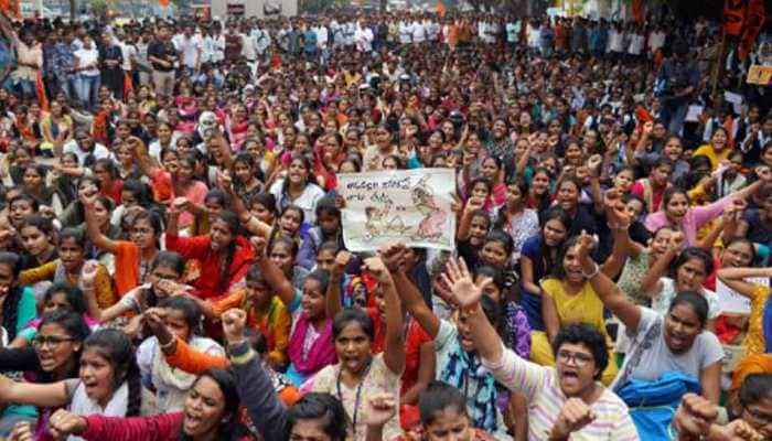 People hold protest across country demanding justice for Hyderabad rape-muder case victim