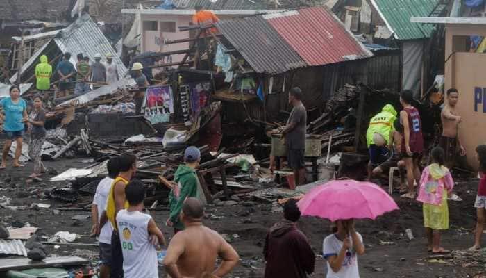 One killed as Typhoon Kammuri hits the Philippines, hundreds of flights halted