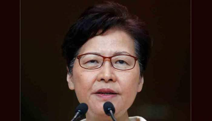US law will hurt business confidence, says Hong Kong leader Carrie Lam