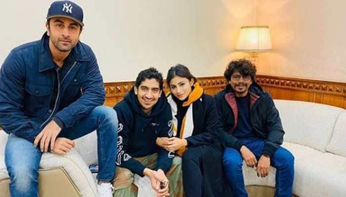Ranbir Kapoor, Mouni Roy chill in Manali sans Alia Bhatt