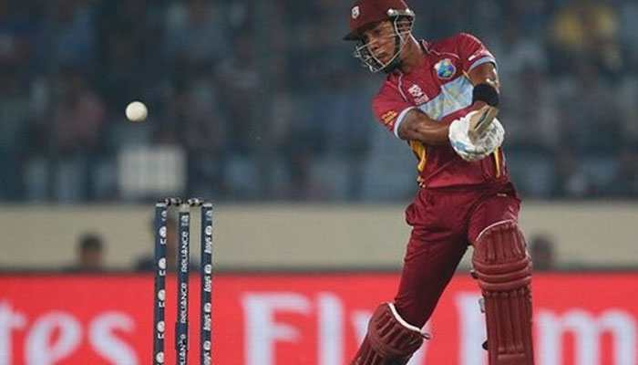 2nd T20I: Lendl Simmons' fifty helps West Indies clinch series-leveling win over India