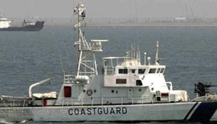 Coast Guard recovers capsized boat off Gujarat coast, 7 fishermen still missing