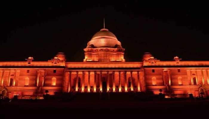 Rashtrapati Bhavan lits up in orange for global awareness on violence against women
