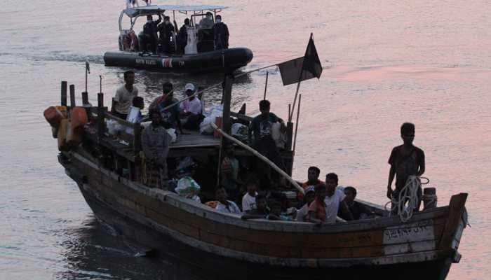 Myanmar seizes boat carrying 173 Rohingya Muslims: Military spokesman