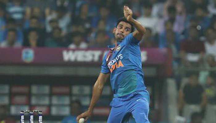 Navdeep Saini replaces injured Deepak Chahar for 3rd West Indies ODI