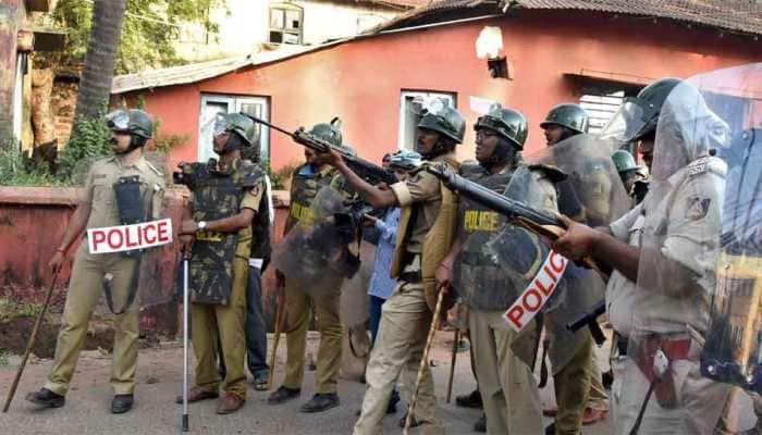 Police baton-charge anti-CAA protesters in Uttar Pradesh's Bahraich, several injured