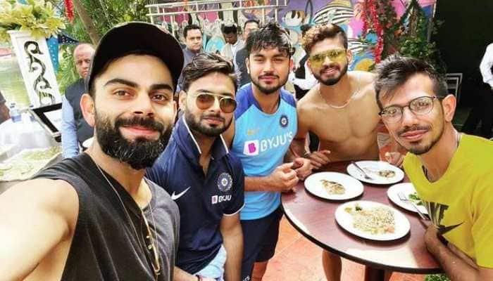 Virat Kohli and company enjoy 'day-off' ahead of 3rd West Indies ODI