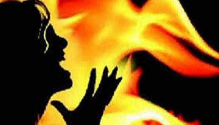 UP woman, who set herself on fire outside SP office, dies