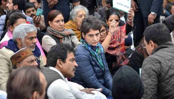 Priyanka Gandhi visits Uttar Pradesh's Bijnor, meets kin of victims killed in CAA protests