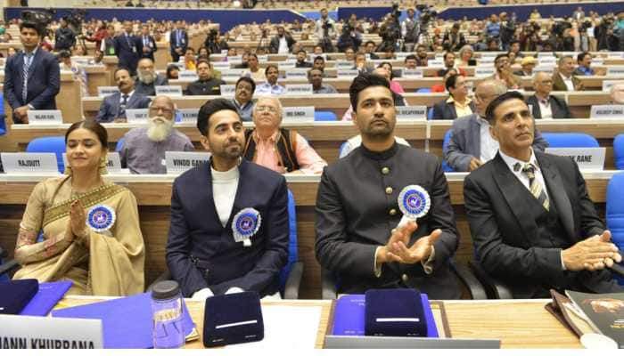 Bollywood stars overwhelmed with National Awards glory