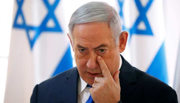 Gaza rocket sends Israel PM Netanyahu to shelter during campaign rally