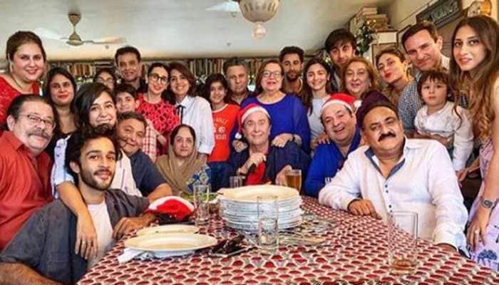 Alia Bhatt joins the Kapoors for Christmas lunch along with beau Ranbir