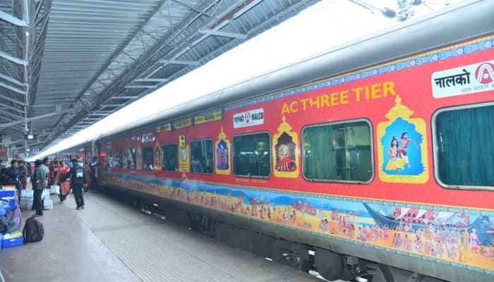 Bhubaneswar-New Delhi Rajdhani trains adorned with beautiful art depicting Odisha culture, tickets issued in Odia language