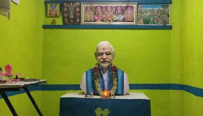 Tamil Nadu-based farmer builds NaMo temple in Trichy