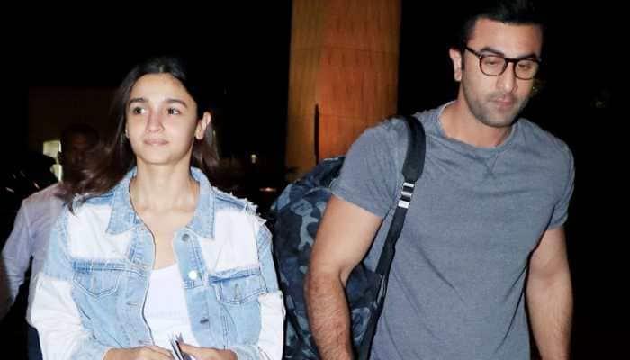 Ranbir Kapoor-Alia Bhatt jet off to a romantic destination- See inside