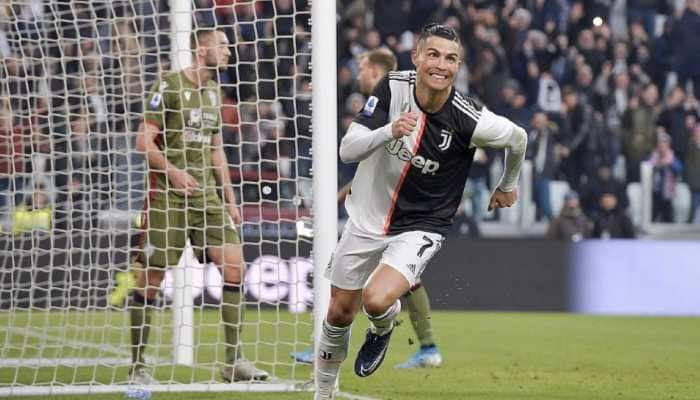 Cristiano Ronaldo's first hat-trick for Juventus in Serie A is his 56th