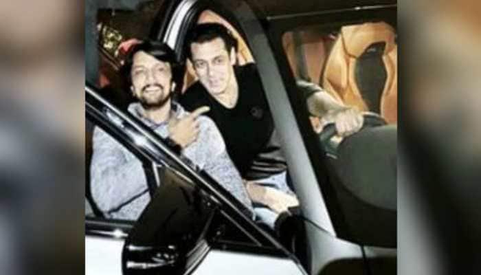 'Sweetest gesture': Salman Khan gifts 'Dabangg 3' co-star Kichcha Sudeep a BMW M5