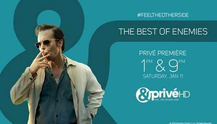 Catch the inspiring true story of a headstrong woman as &PrivéHD premieres 'The Best Of Enemies'