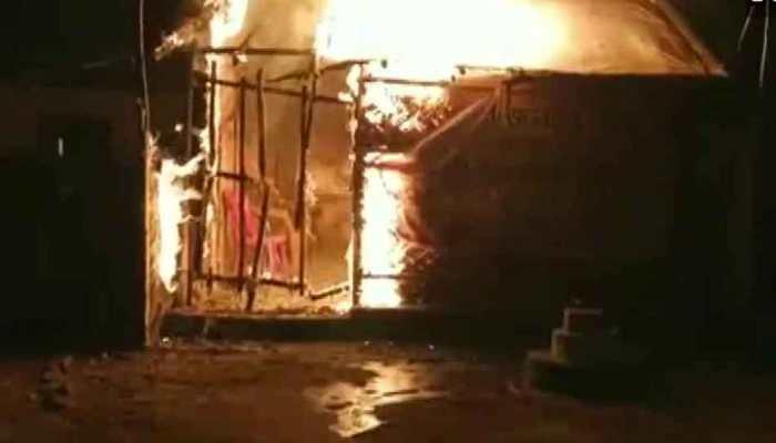 BJP office set ablaze in West Bengal's Asansol, party blames Trinamool Congress