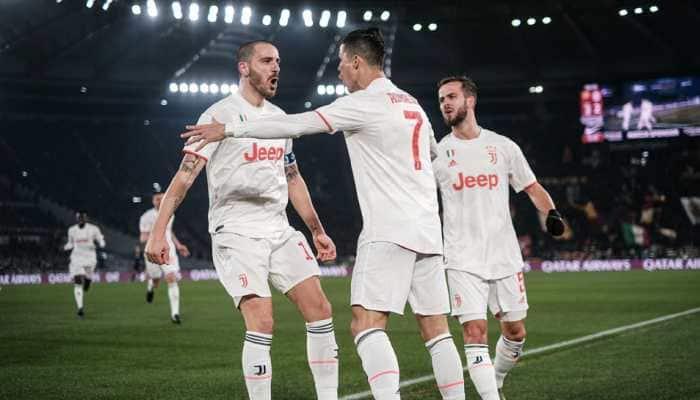 Serie A: Cristiano Ronaldo strikes again as Juventus go top with Roma win