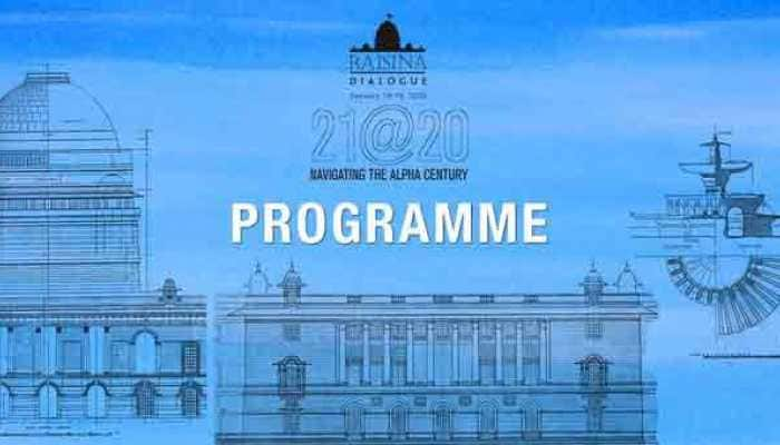Raisina Dialogue 2020: India`s annual global meet on geopolitics, geo-economics begins today