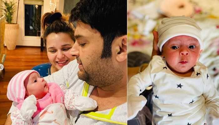 Kapil Sharma shares first pics of daughter Anayra Sharma, netizens can't keep calm!